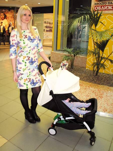 Платье «Бабочки» для кормящих мам и беременных