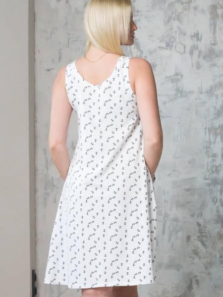 Платье-майка «Сильвия» для кормящих мам и беременных